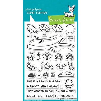 Lawn Fawn - A Bug Deal Stamps