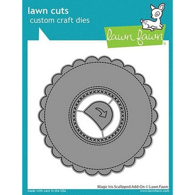Lawn Fawn - Magic Iris Scalloped Add-On Dies