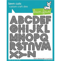 Lawn Fawn - Oliver's Stitched ABCs Dies