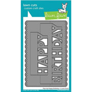 Lawn Fawn - Pop-Up Happy Birthday Die