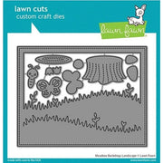 Lawn Fawn - Meadow Backdrop: Landscape Dies