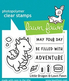 Lawn Fawn - Little Dragon Stamps