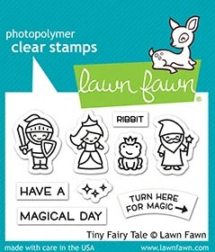 Lawn Fawn - Tiny Fairy Tale Stamps