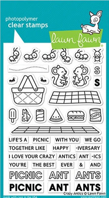 Lawn Fawn - Crazy Antics Stamps