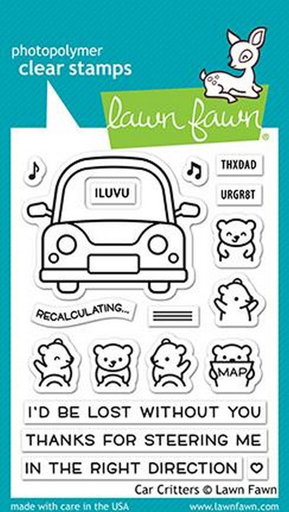 Lawn Fawn - Car Critters Stamps