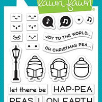Lawn Fawn - Peas On Earth Stamps