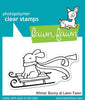 Lawn Fawn - Winter Bunny Stamps