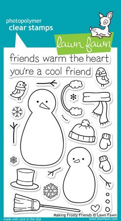 Lawn Fawn - Making Frosty Friends Stamps