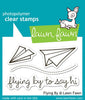 Lawn Fawn - Flying By Stamps
