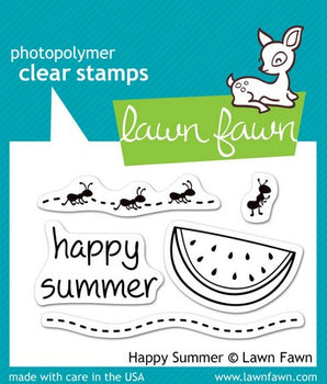 Lawn Fawn - Happy Summer Stamps