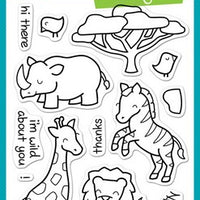 Lawn Fawn - Critters On The Savanna Stamps