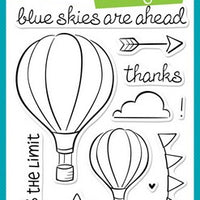 Lawn Fawn - Blue Skies Stamps