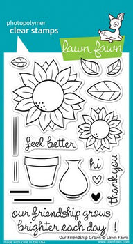 Lawn Fawn - Our Friendship Grows Stamps