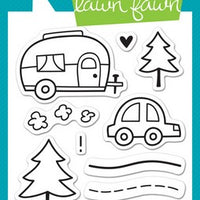 Lawn Fawn - Happy Trails Stamps