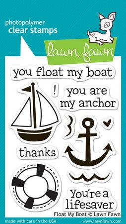 Lawn Fawn - Float My Boat Stamps