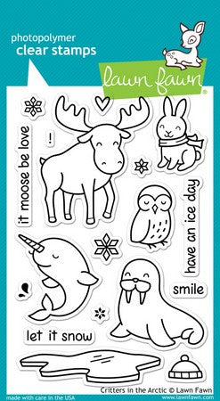 Lawn Fawn - Critters In the Arctic Stamps