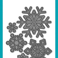 Lawn Fawn - Stitched Snowflakes Dies