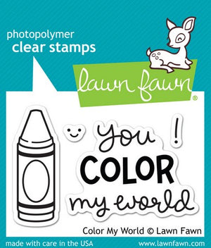 Lawn Fawn - Color My World Stamps