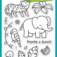 Lawn Fawn - Critters In The Jungle Stamps