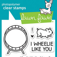 Lawn Fawn - Wheelie Like You Stamps
