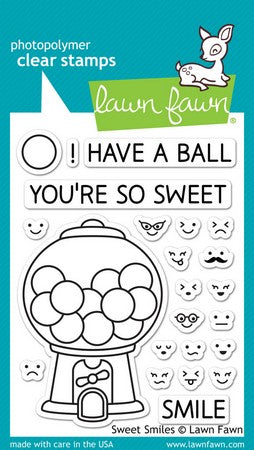 Lawn Fawn - Sweet Smiles Stamps