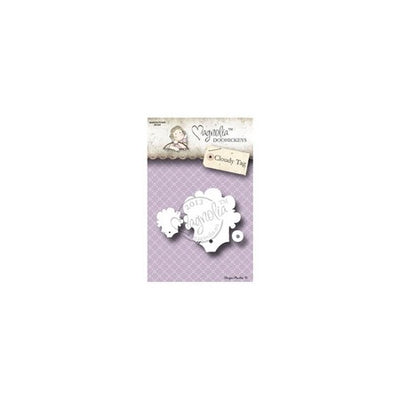 Magnolia DooHickey's Cutting Dies - Cloudy Tag