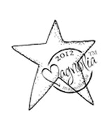 Magnolia Stamps - Nativity Collection - Star #1114