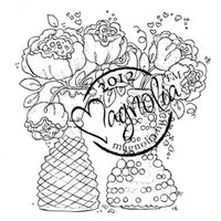 Magnolia Stamps - With Love Collection - Bouquets With Love #1147