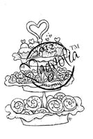 Magnolia Stamps - With Love Collection - Baked With Love #1148