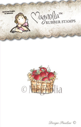 Magnolia Stamps - Winter Wonderland Collection - Cozy Christmas Apple Basket