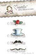 Magnolia Stamps - Little London Collection - Afternoon Tea Rose Kit