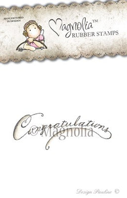 Magnolia Stamps - Lost & Found Collection - Congratulation