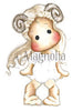 Magnolia Stamps - Zodiac Collection - Aries Tilda