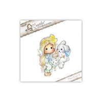 Magnolia Stamps - Animal Of The Year Collection - Tilda With Inez The Bunny