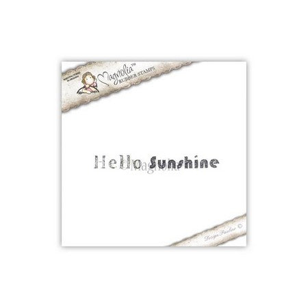 Magnolia Stamps - Pink Lemonade Collection - Hello Sunshine