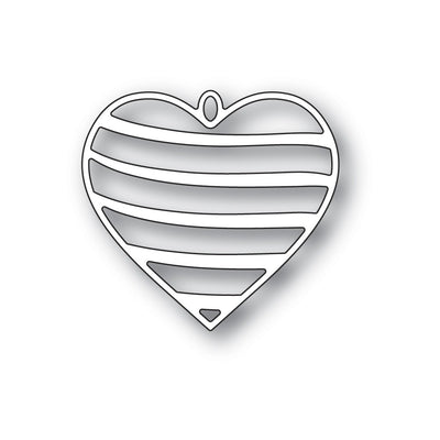 Memory Box - Dies - Banded Heart Locket