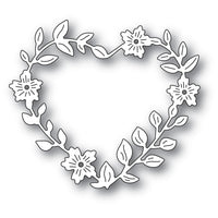 Memory Box - Dies - Blooming Heart Wreath