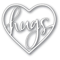Memory Box - Dies - Hugs Loving Heart