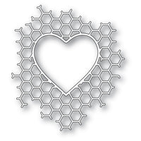 Memory Box - Dies - Honeycomb Heart