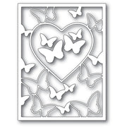 Memory Box - Dies - Butterfly Heart Frame 1