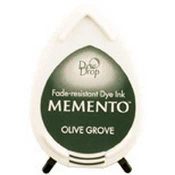 Memento Dew Drop Ink Pad - Olive Grove