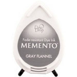 Memento Dew Drop Ink Pad - Gray Flannel