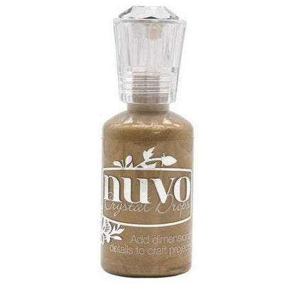 Nuvo Crystal Drops -Dirty Bronze