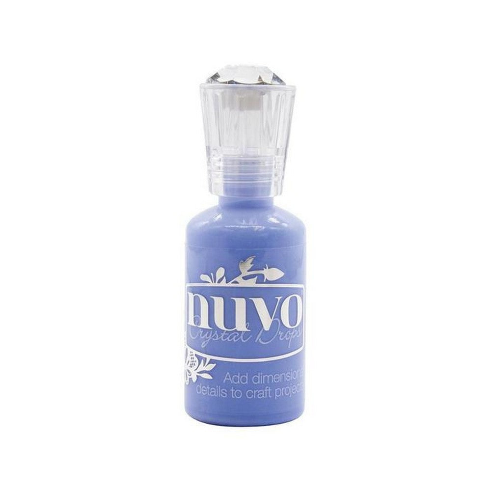Nuvo Crystal Drops - Berry Blue