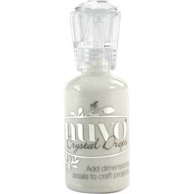 Nuvo Crystal Drops - Oyster Gray