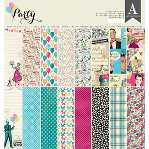 "Authentique - 12"" x 12"" - Party Collection Kit"
