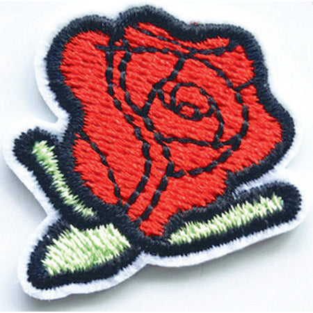 Patch / Applique - Sew / Iron - Small Rose