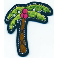 Patch / Applique - Sew / Iron - Palm Tree With Coconuts