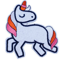 Patch / Applique - Sew / Iron - White Unicorn