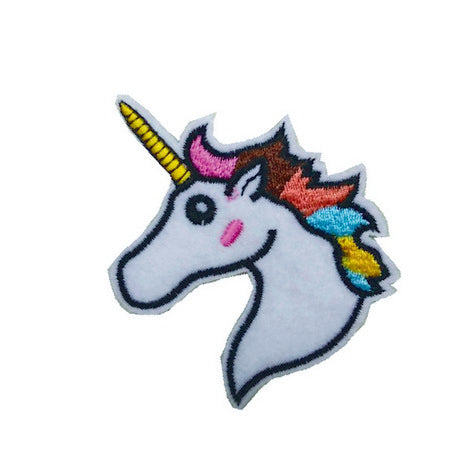 Patch / Applique - Sew / Iron - Unicorn Head Large